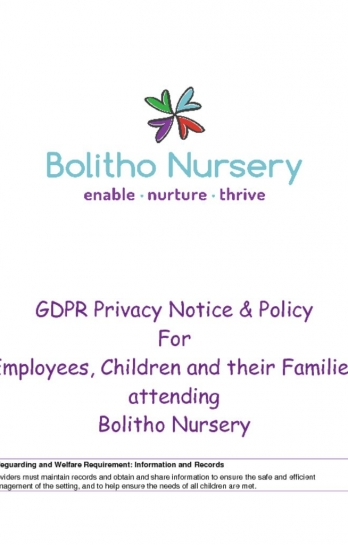 thumbnail of GDPR PRIVACY NOTICE AND POLICY
