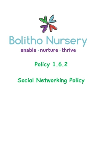 thumbnail of 1.6.2 Social Networking Policy